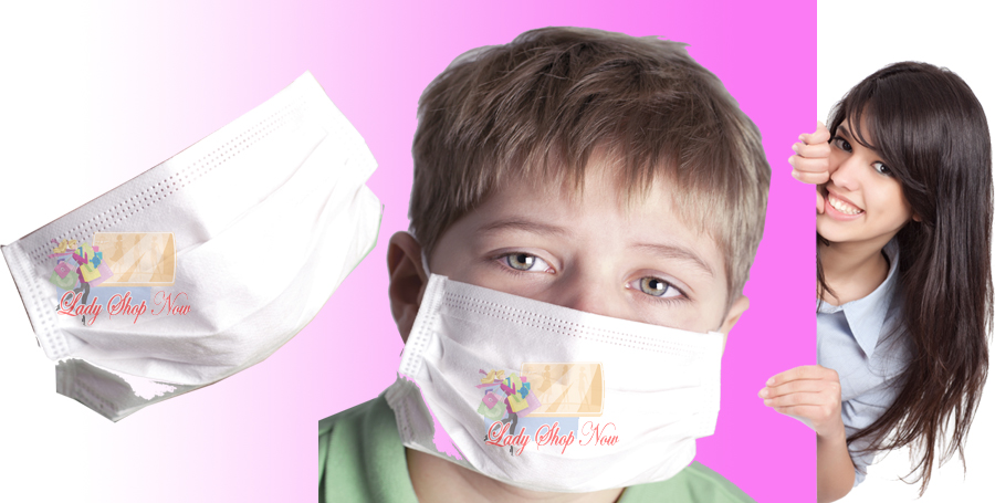 Anti Haze Junior Face Mask PM2.5 Disposable 3 Ply 12pcs