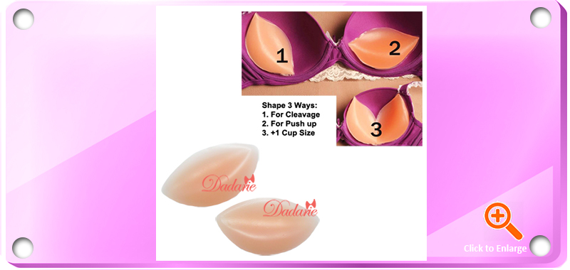 Dadarie Silicone Bra Pads Free Size