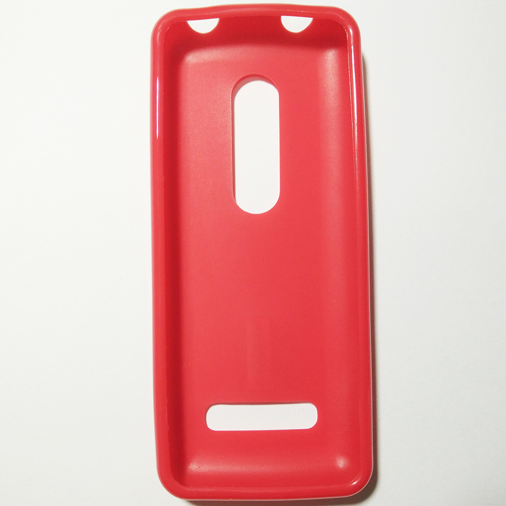 lowest price 484f9 fcbe3 NOKIA 206 - RED COLOUR - PHONE SILICONE BACK COVER CASE