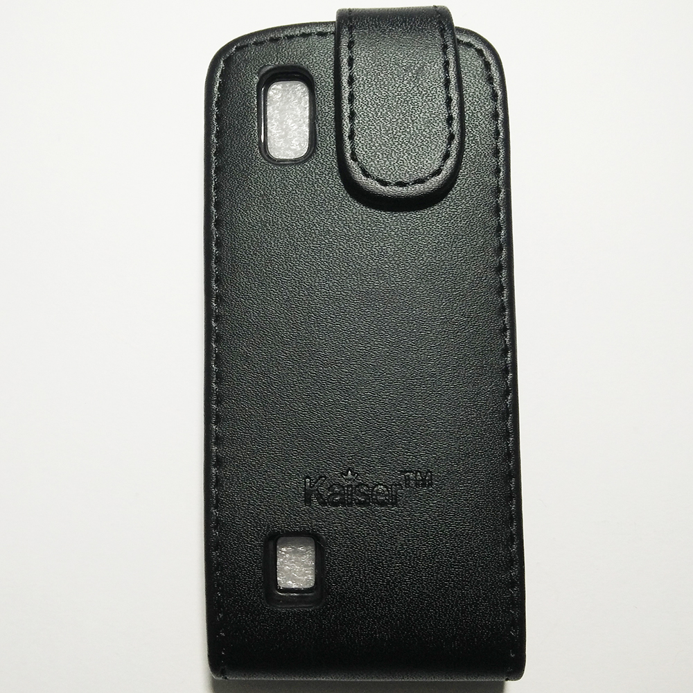 Phone Standable Flip Cover Case - SAMSUNG N300 (BLACK COLOUR)