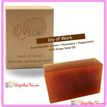 Woodie Pie Handmade Natural Soap - Joy of Work