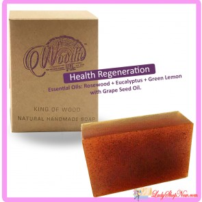 Woodie Pie Handmade Soap - Health Regeneration