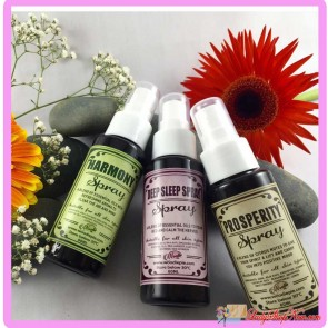 Woodie Pie Handmade Natural Sprays Series - 3 bottles set
